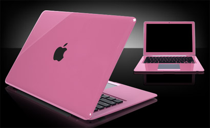Pink Macbook - I have a Macbook Pro. And the case I used is PINK! I just simply love it. It's so cute!