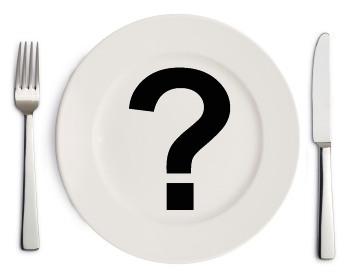 dinner plate - what's for dinner?