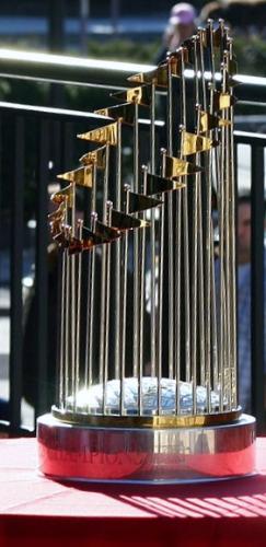 Baseball trophy - The World Series Trophy.
