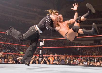 wwe - wwe wrestlers randy orton and jeff hardy