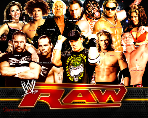 wwe - wwe raw superstars