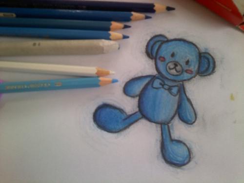 bear - a bear drawn by my older sis. :)