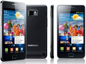 Samsung Galaxy SII - One of the great phones proudly produced by Samsung.
