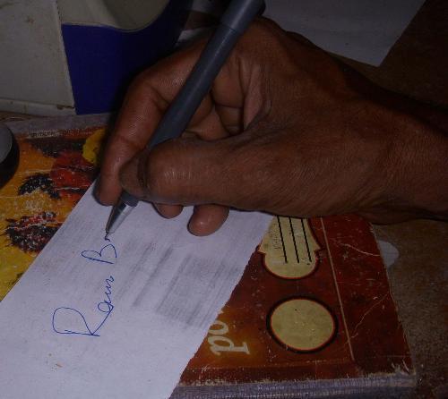 Signature - My handwriting