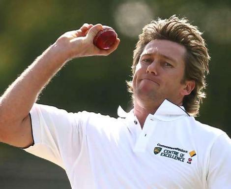Glenn Mcgrath - The best bowler Australian bowler ever!