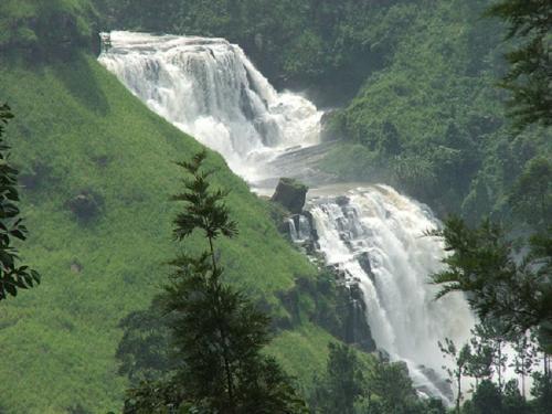St Clairs waterfall - One of the most beautiful water fall , the St Clair water fall at Thalawakele, Sri Lanka