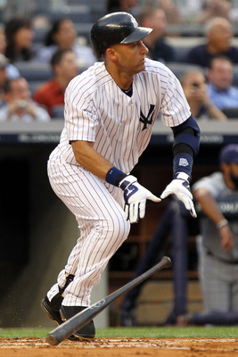 Derek Jeter - He in the 3,000th hit club! That is so awesome!