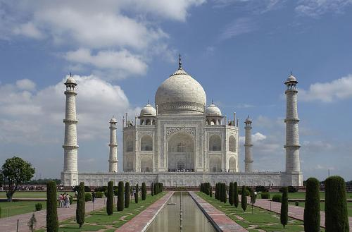 Taj Mahal - The famous Taj Mahal in India.