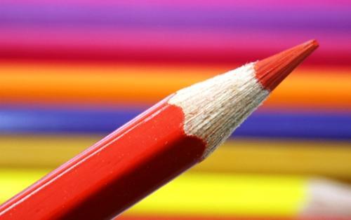 pencil - colored pencil.
