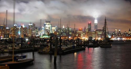 city - shore shot of a city.