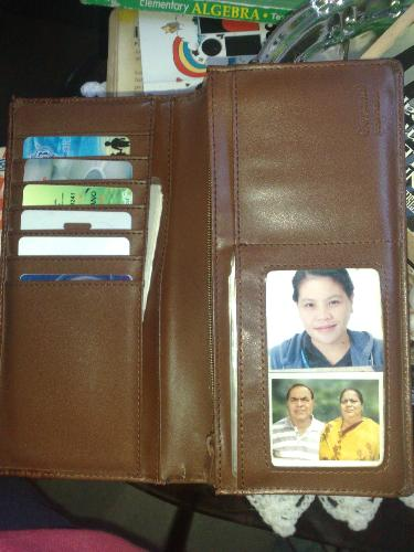 photo in my wallet ...me and my loving parents - photo in my wallet ...me and my loving parents