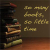 So many books icon - Icon - 100x100 - 'So many books, so little time'