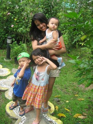 me and my kids - i have lots of pics with me and my kids and this is one of them :))