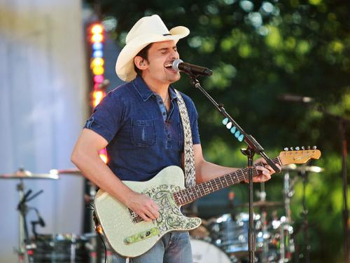 Brad Paisely - Brad Paisley in concert.