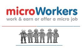 Microwokers - Microwokers is a site that you can sign up as Workers and get paid by doing micro job. If you have simple job that require other to complete for you, you can be an employer and pay workers to do it for you.