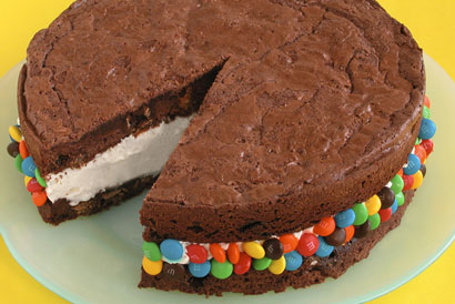 Brownie Ice Cream Sandwich - ....oh, so yummy!!!