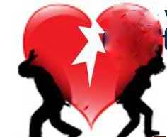 heart - Its a broken heart that waiting for someone to help and fix it again.