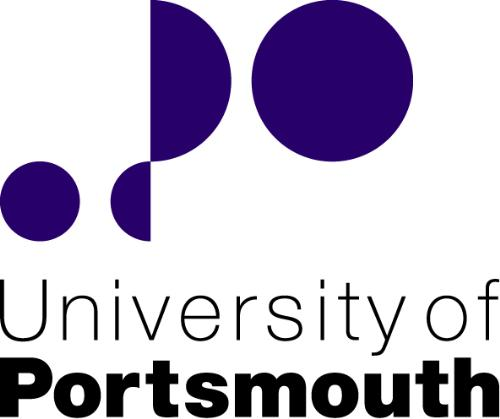 University of Portsmouth - The logo of the University of Portsmouth in Hampshire, UK.