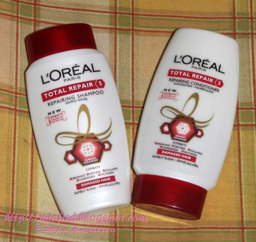 my shampoo and conditioner - this i use..have to reuploadi t because first time did not appear
