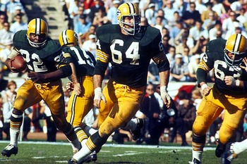 Jerry Kramer - He never has made to the NFL Hall of Fame and it is a shame! He deserves to be there!