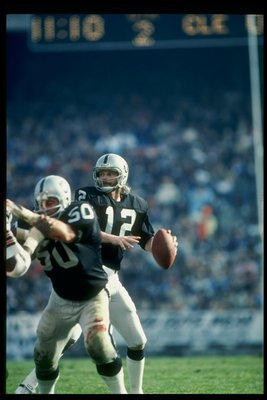 Ken Stabler - Nicknamed Snake. Stabler had a great career with the Oakland Raiders and Houston Oilers.