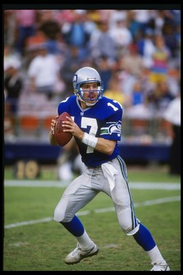 David Krieg - A Wisconsinite who played in the NFL. I know he played with Seattle and a few other teams.