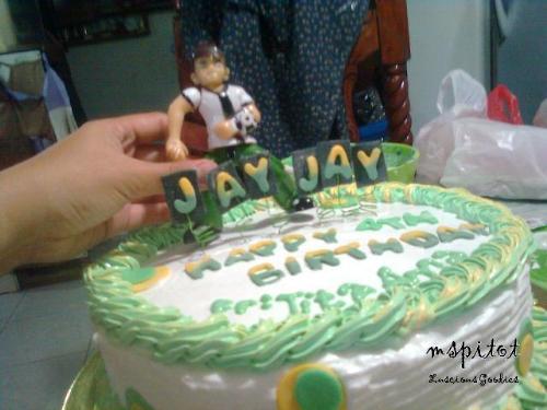Ben10 Cake - For my best friend's nephew.