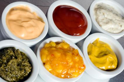 Condiments - Alot of Condiments