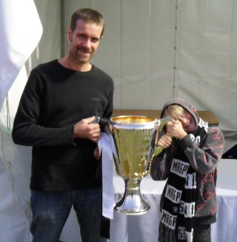 The 2010 AFL Premiership Cup won by Collingwood - This was the first time that I have ever had the chance to see the most important prize in Australian sport and it happened to be the one that was won by the team that I support!