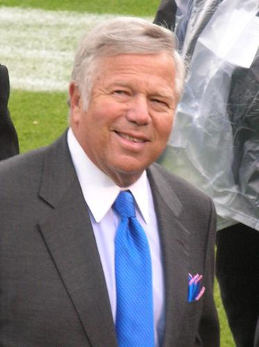 Robert Kraft - Bob Kraft is the owner of the New England Patriots of the NFL.
