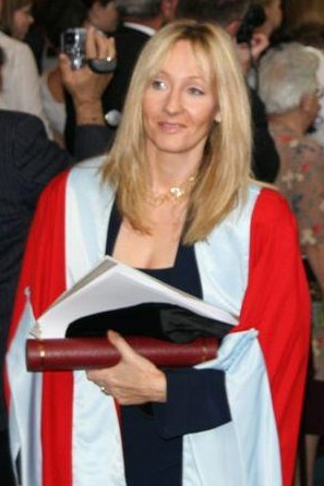 J.K.Rowling - The author and creator of the Harry Potter series.