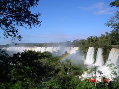 Foz de Iguazu - The biggest falls in the world. They are in the frontier between Brasil, Argentina and Paraguay