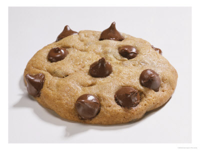 cookies - A Chocolate Chip Cookie