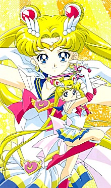Sailor Moon - It is a Japanese cartoon. I did watch some if it and it is alittle strange!