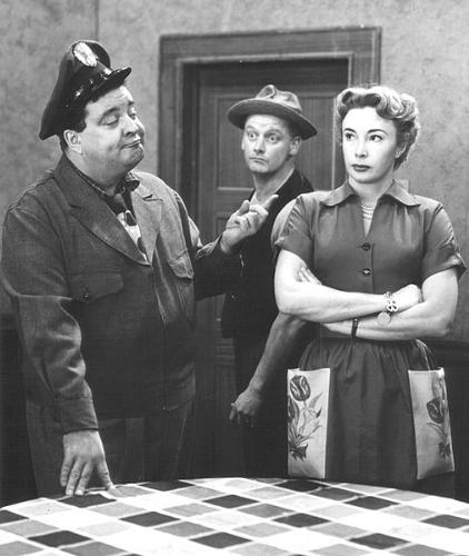 The Honeymooners - A scene with from 'The Honeymooners' with Jackie Gleason and Ed Norton.