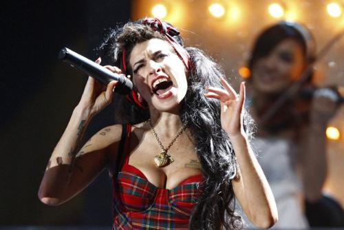 Amy winehouse - She was a torture person.