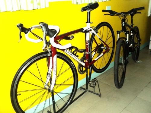 bike - Tonie's new bike