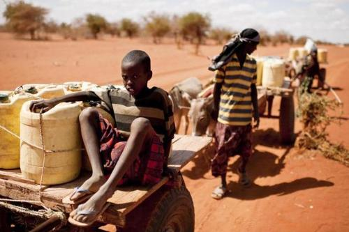 Drought in Africa - Children starving in Africa