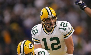 Aaron Rodgers - The Packers have one of the best QB's in the NFL!