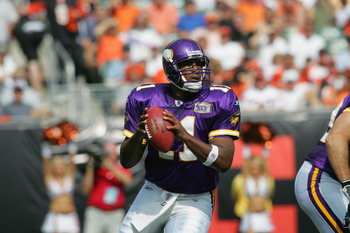 Daunte Culpepper - He never really panned out in the NFL.