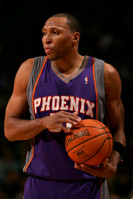 Shawn Marion - Shawn Marion used to play for the Phoenix Suns. He now plays for the Miami Heat.