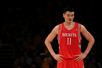 Yao Ming - He just retired form the NBA. It was only a matter of time becuase he was so injury prone.
