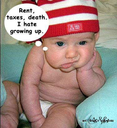 a bitter truth - child thinking about future. don't wanna grow up. terrified bcoz of future challenges.