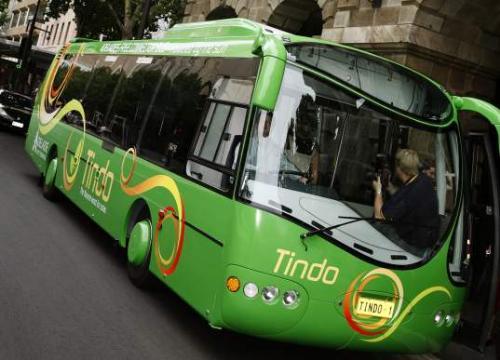 Bus - Green bus I like this