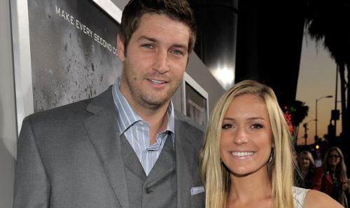 They broke up - Chicago Bears QB Jay Citler dumped his finacee,Kristin Cavallari, over the weekend. I thought she's dump him someday because of his sorely attitude!