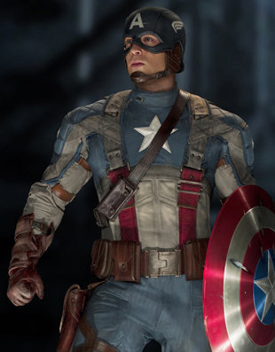 Captian america - This is what the new Captian America looks like. The movie is in threaters now!