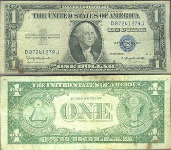 dollar bill - both sides