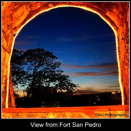 Fort San Pedro - Fort San Pedro has been renovated. Last time I went there was when I was just a kid. Now, many things changed. I caught this scenic view, it was mesmerizing! Such grandeur of beauty.