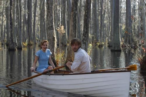 he takes her to a beautiftul place - This picture is from the begining of my favorite scene in the movie .When he takes her to that beautiful pond filled with lotus and birds. an amazing photography.