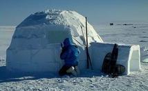 Igloo - Eskimo's house, an Igloo